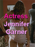 Sexy Actress Jennifer Garner