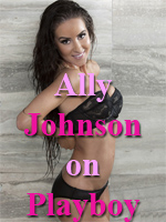 Ally Johnson takes a Playboy Shower