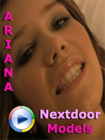 Ariana Poses for Nextdoor Models