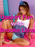 Fun Upskirt from Brooke Lima