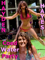 Coed Water Fight - Hayden Hayes