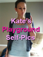 Kate Takes Self-Pics for KatesPlayground