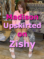 Zishy Girl Madison is Upskirted out Shopping