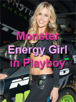 Monster Energy Girl - Playboy