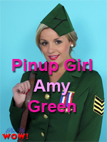 Pinup Girl Amy Green