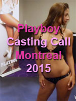Playboy Casting Call 2015 - Montreal
