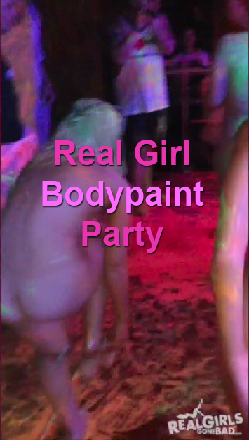 Real Girl Bodypaint Party
