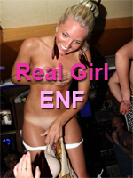 Real Girl ENF in Public