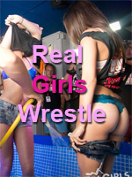 Real Girls Gone Bad Wrestle in Ayia Napa