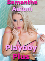 Samantha Autum Strips for Playboy