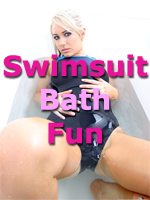 Swimsuit Fun in the Bath