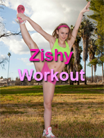 Zishy Girl Working Out