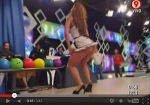 Dancing Upskirt Fun